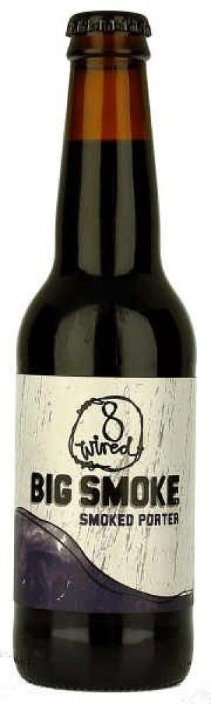 8 Wired Big Smoke Porter 330ml